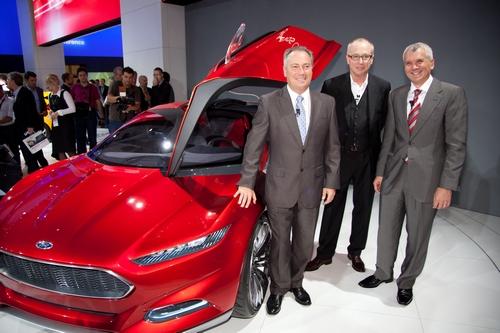 Франкфуртский автосалон: четыре мировых премьеры Ford