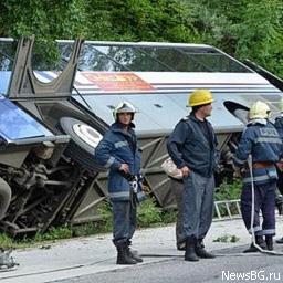 Названо причини аварії автобуса з українськими туристами в Болгарії