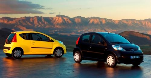 """""""Peugeot"""" выпустил 500 000–й экземпляр модели 107"""