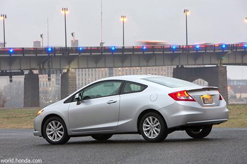"""Новая """"Honda Civic"""" дебютировала в Нью-Йорке"""