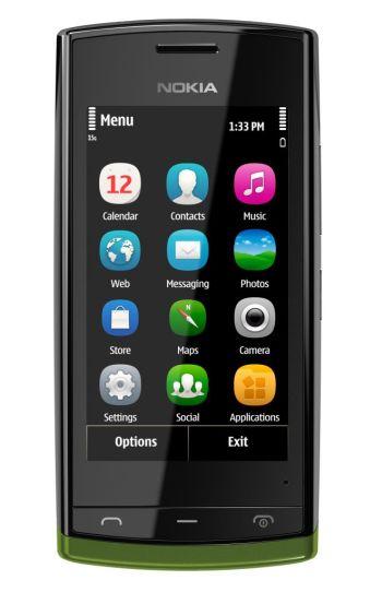 Nokia анонсировала новый сенсорный смартфон начального уровня