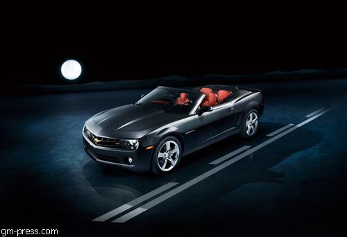 """Chevrolet"" рассекретил кабриолет ""Camaro"""