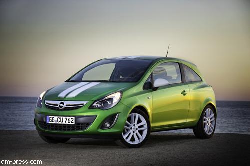 """""""Opel Corsa"""" получил новый облик"""