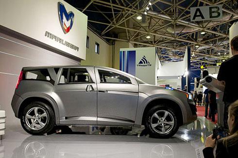 """Российская """"Marussia"""" представила свой первый внедорожник (фото)"""