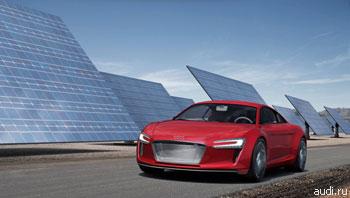 """""""Audi"""" ограничит выпуск спортивных электромобилей """"e-tron"""""""