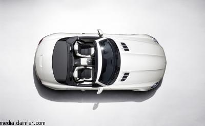 """Mercedes"" представил кабриолет ""SLS AMG"""