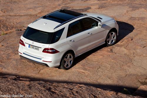 Европейская премьера Mercedes-Benz ML состоится в Киеве