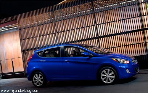 """""""Hyundai"""" представил в Нью-Йорке новый """"Accent"""""""