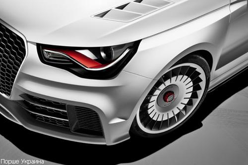 Audi презентовал гоночный шоу-кар Audi A1 clubsport quattro