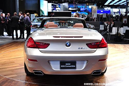 BMW 6 серии презентовали в Детройте
