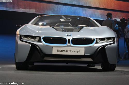 "BMW представил i3 и i8: ""живые"" фото"