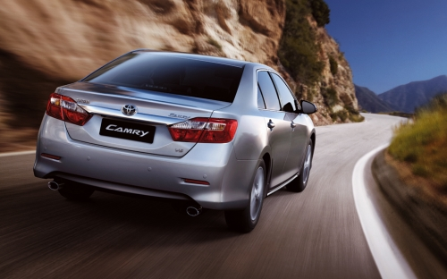 Новая Toyota Camry появится в Киеве в конце октября