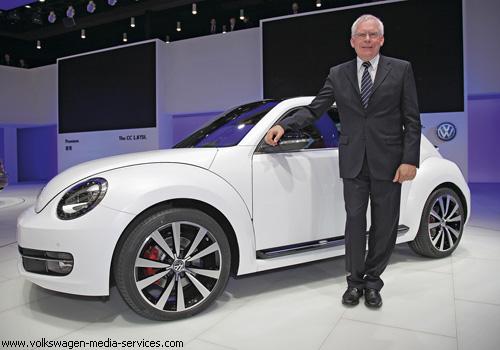 """Новый VW """"Жук"""" показался живьем"""