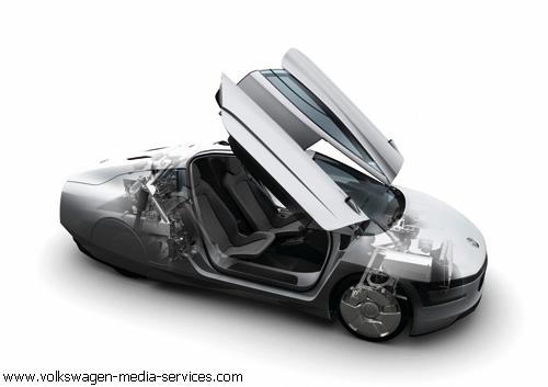 """Мировая премьера """"Volkswagen"""": гибридная XL1"""