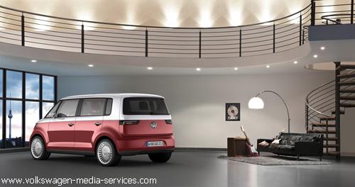 """""""Volkswagen"""" представил в Женеве электрический """"Bulli"""""""