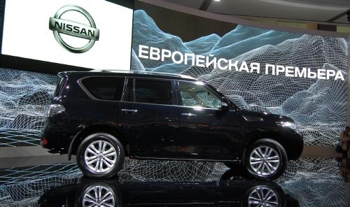 """""""Nissan"""" представит в Украине новый """"Patrol"""""""