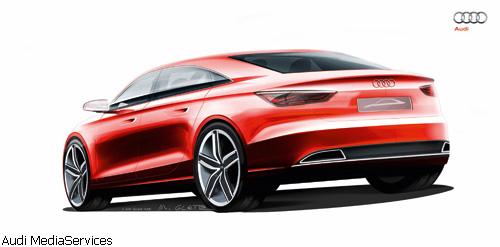 """""""Audi"""" анонсировала новый """"A3"""""""
