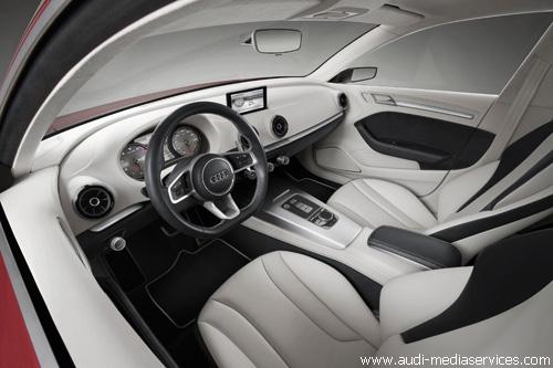 """Мировая премьера в Женеве: """"Audi"""" A3 concept"""