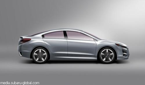 """Subaru"" показал в Лос-Анджелесе ""Impreza Concept"""