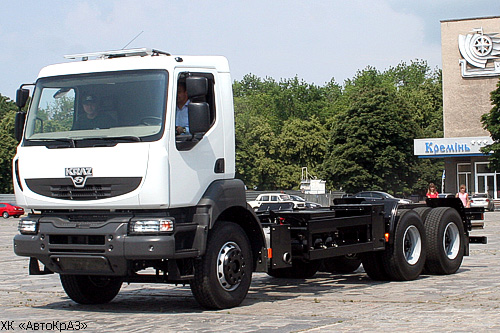 На КрАЗы будут устанавливать кабины Renault