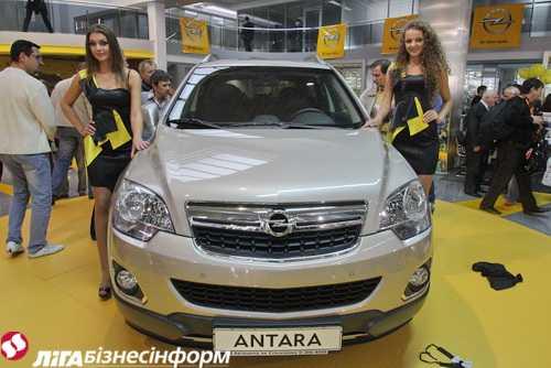 Opel представил на Столичном автошоу новый Antara