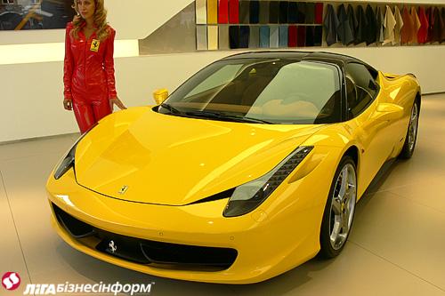 Ferrari представила в Украине четыре новинки