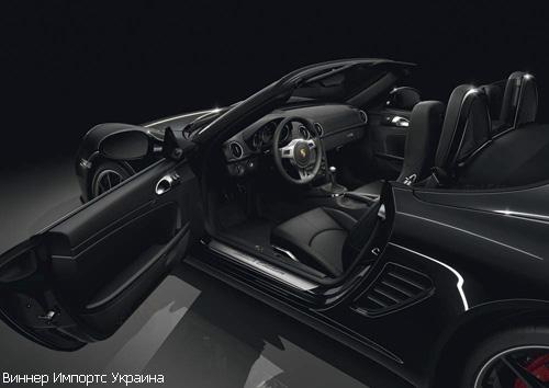 """""""Porsche"""" выпустил лимитированную версию """"Boxster S Black Edition"""""""