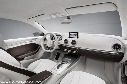 """""""Audi"""" впервые представил седан """"A3 e-tron concept"""""""