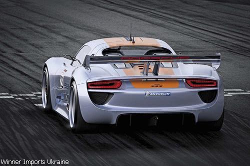 """Мировая премьера в Детройте: """"Porsche"""" 918 RSR"""