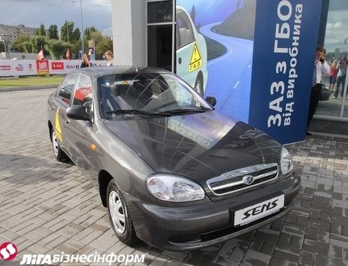 ЗАЗ Forza и Aveo с заводским ГБО появятся в начале 2012 года