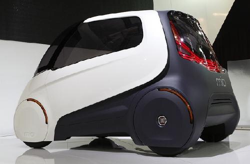 """Fiat"" показал футуристический ""Mio"""
