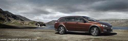 Peugeot представил гибридный универсал 508 RXH