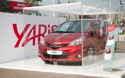 Toyota представила в Украине новый Yaris