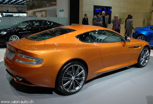"Автосалон в Женеве: ""Aston Martin"" зашел на ""Virage"""