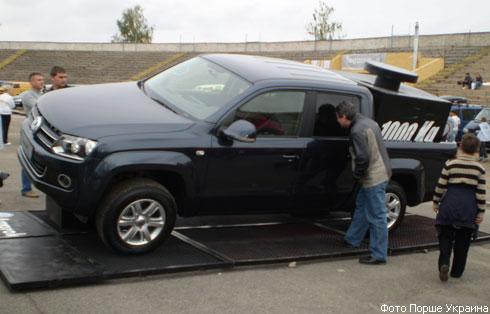 """Volkswagen"" представил в Украине новый ""Amarok"" (фото)"