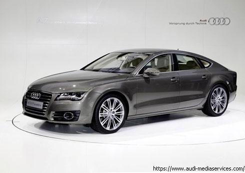 """""""Audi"""" официально представил абсолютно новую модель A7"""