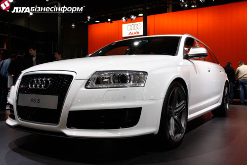 """Новинки """"Audi"""" на автошоу в Киеве"""