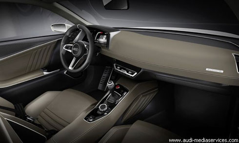 """""""Audi"""" в Париже: концепт спорт-купе """"Quattro"""" (фото)"""