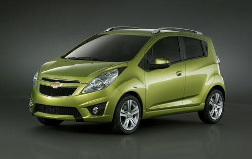 2010 Chevrolet Spark.