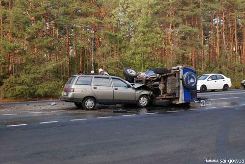 ДТП на Столичному шосе у Києві: четверо людей травмовані