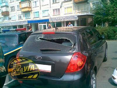 ДТП в Днепровском районе. Водитель протаранил 5 авто