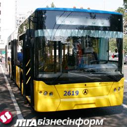 Киев обустроит отдельные полосы для общественного транспорта