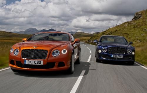 Bentley наращивает продажи в Германии и Китае
