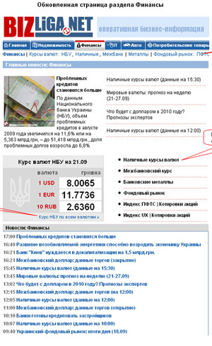 Пересчитать курс валют