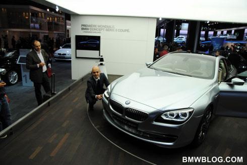 Концепт BMW 6-Series: новые фото