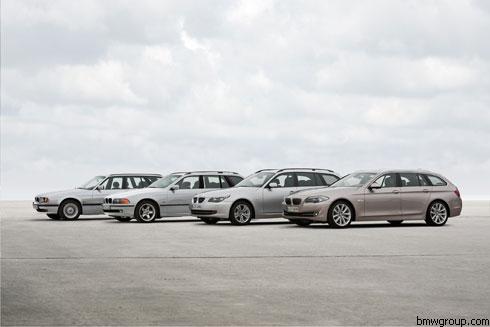 """BMW представил новый универсал 5 серии - """"Touring"""""""