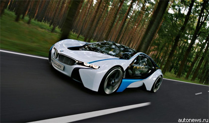 "BMW представил концепт ""Vision EfficientDynamics"""