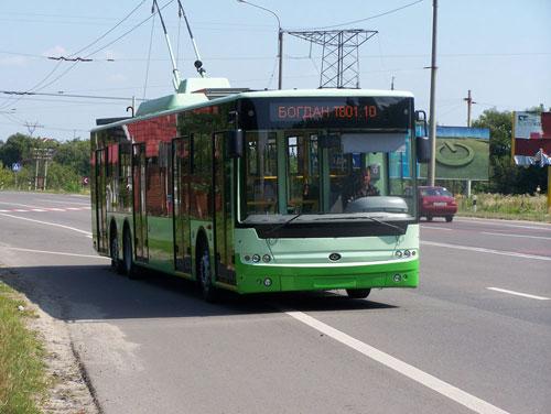 """Богдан"" завершил обкатку нового троллейбуса"