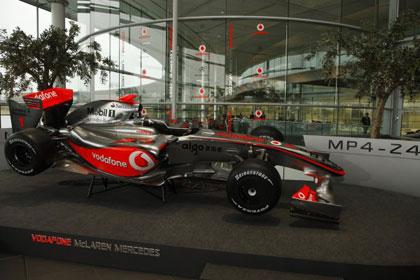 """""""Mercedes"""" покажет болид """"Формулы 1"""" на Столичном автошоу"""
