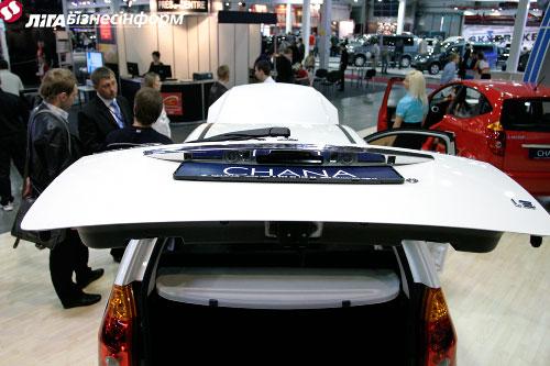 """""""Chana"""" показала себя на автошоу"""